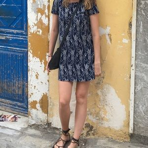 MANGO shift or T-shirt dress in floral